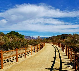 Santee, California - Santee opened the Walker Preserve Trail in April 2015