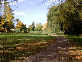 Walker's Creek, one of the paths and parks for which St. Catharines is known.