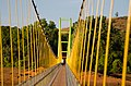 Walking Bridge over Sharavathi River Karnataka India.jpg