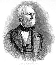 Poet Walter Savage Landor