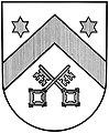 Wappen Stadt Preußisch Oldendorf (sw).jpg
