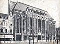 Warenhaus Leonhard Tietz AG, Ansicht der Seitenfront vom Westen aus, Architekt Joseph Maria Olbrich, Düsseldorf, Foto 1913.jpg