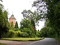 Warnham Lodge clock tower and Northlands Road - geograph.org.uk - 1376585.jpg
