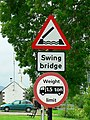 Warning sign, Dunardry Bridge - geograph.org.uk - 932639.jpg
