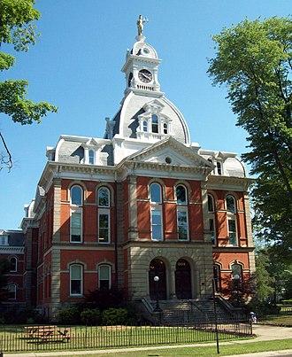 Warren County, Pennsylvania - Image: Warren County Courthouse Jul 12