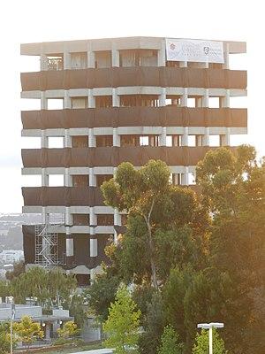Warren Hall - Warren Hall, days prior to demolition