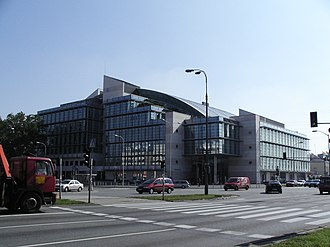 TVN (Poland) - TVN HQ in Warsaw, Poland