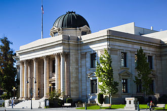 Washoe County, Nevada - Image: Washoe County Courthouse
