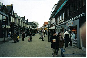 Wassenaar - De Langstraat, the main shopping street in Wassenaar