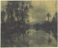 Water and Trees of the Viga Canal near Mexico City MET DP114619.jpg