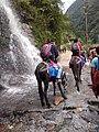 Waterfall view on the way to kedarnath 08.jpg