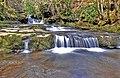 Waterfalls on the Caerfanell - geograph.org.uk - 1213551.jpg