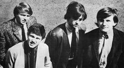 Wayne Fontana & The Mindbenders in 1965. L-R: Bob Lang, Ric Rothwell, Eric Stewart and Wayne Fontana