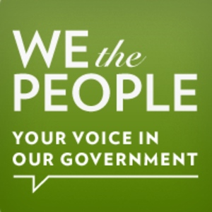 We the People (petitioning system) - Image: We the People logo