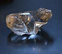 Web Frog Rock crystal 1st Dynasty München 25102016.jpg