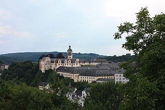 House of Nassau-Weilburg - Image: Weilburg Schloss Gesamtansicht