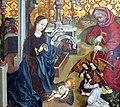 Weimar, Schlossmuseum, die Geburt Christi, Franken 1484.JPG