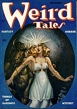 Weird Tales cover image for November 1953