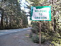 Welcome To Oregon Sign, US 199.JPG