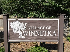 "Winnetka, Illinois - ""Welcome to Winnetka"""