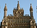 Wells, cathedral west front detail - geograph.org.uk - 1555797.jpg