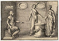 Wenceslas Hollar - The Greek gods. Vesta.jpg