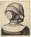 Wenceslas Hollar - Woman's head seen from behind.jpg