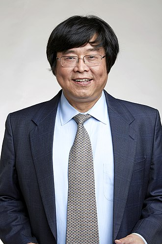 Wenfei Fan - Wenfei Fan at the Royal Society admissions day in London, July 2018