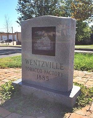 Wentzville Tobacco Company Factory - Wentzville Tobacco Company Factory Monument, September 2014