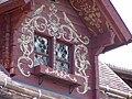Werdenberg. Schlangenhaus. Facade paintings. Side window - 002.jpg