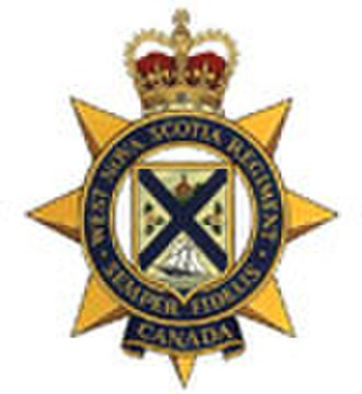 West Nova Scotia Regiment - Image: West NSR