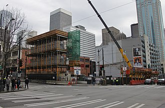 2nd and Pike - Image: West Edge Tower under construction, February 2016 (25000284819)
