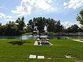 West across north end of Salem Lake, Salem, Utah, May 16.jpg