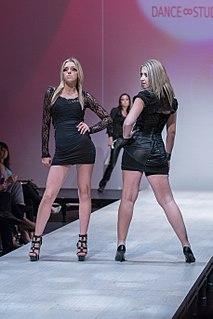 Fashion show exhibition to showcase a fashion collection