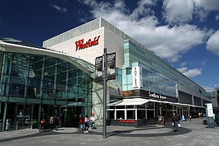 shopping centre in White City, London