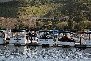 Westlake Village, California - Westlake Lake in Westlake Village