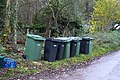 Wheelie bins on Shotover - geograph.org.uk - 1581748.jpg