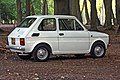 White left hand drive Fiat 126 produced in 1973 5.jpg
