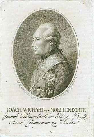 Capitulation of Erfurt - Wichard von Möllendorf