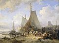 Wijnand Nuijen - Vissersschepen op het strand.jpg