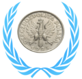 WikiProject Numismatics Polish coins taskforce concept logo (2017).png