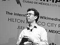 Wikimanía 2015 - Day 4 - Luis von Ahn conference - LMM (26).JPG
