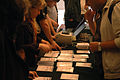 Wikimania 2009 - Check in.jpg