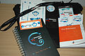 Wikimania 2009 - goodies.jpg