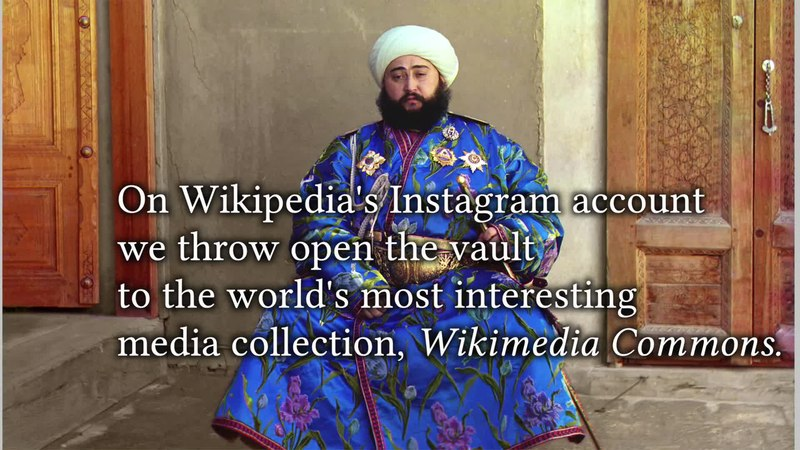 File:Wikipedia Instagram channel announcement February 8th, 2016.webm