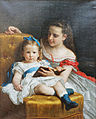 William Adolphe Bouguereau - Portrait d'Eva et Frances Johnston - 1869 - 001.jpg