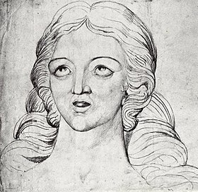 William Blake, Visionary Head of Corinna The Theban Detail1-sm.jpg