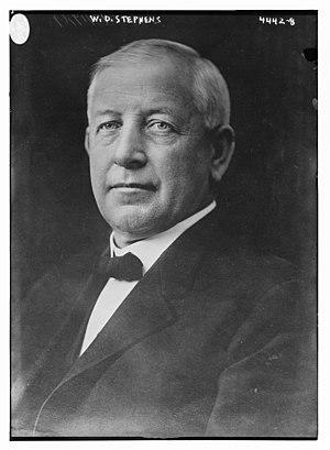 William Stephens - Image: William Dennison Stephens (1859–1944) portrait circa 1917