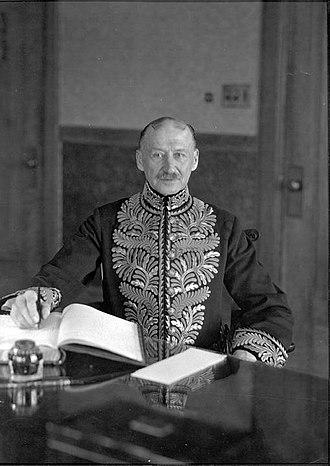 William Egbert - Image: William Egbert at Government House