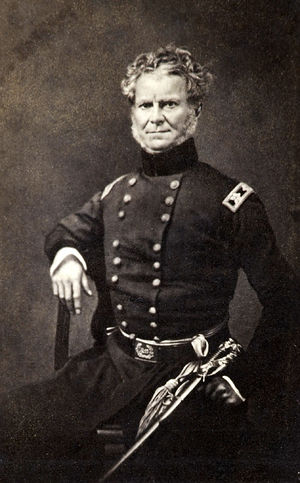 Eggnog Riot - U.S. Military Academy commandant William Worth (1820–28) between 1845 and 1849